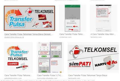 2 cara transfer pulsa telkomsel terbaru dan biayanya