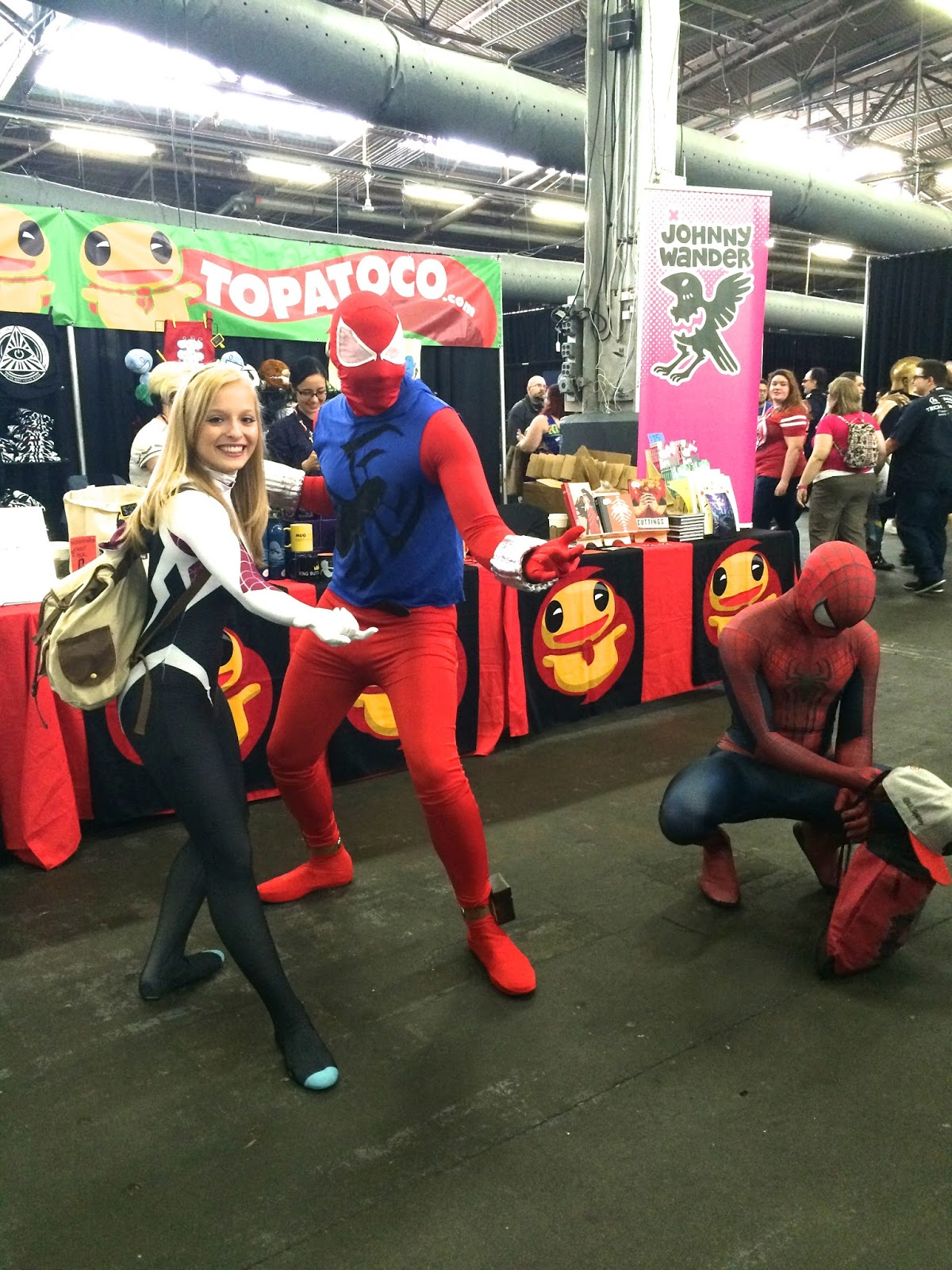 Spider-Gwen cosplay Spider-Man Special Edition NYC