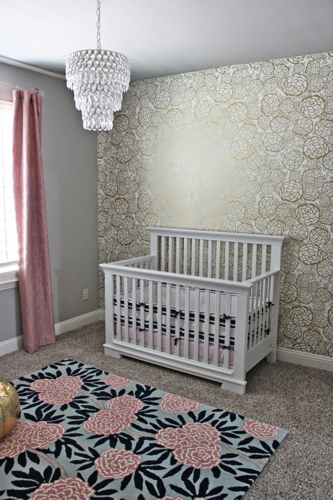 the most comfortable chair how to tie sashes a little of this, that: pink + gold navy nursery
