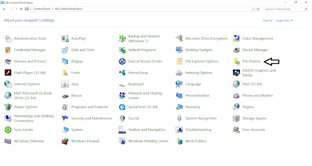كيف تحمي ملفاتك من الضياع على الويندوز بدون برامج وبسهولة !