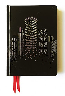 Flame Tree Libreta de notas Cityscape