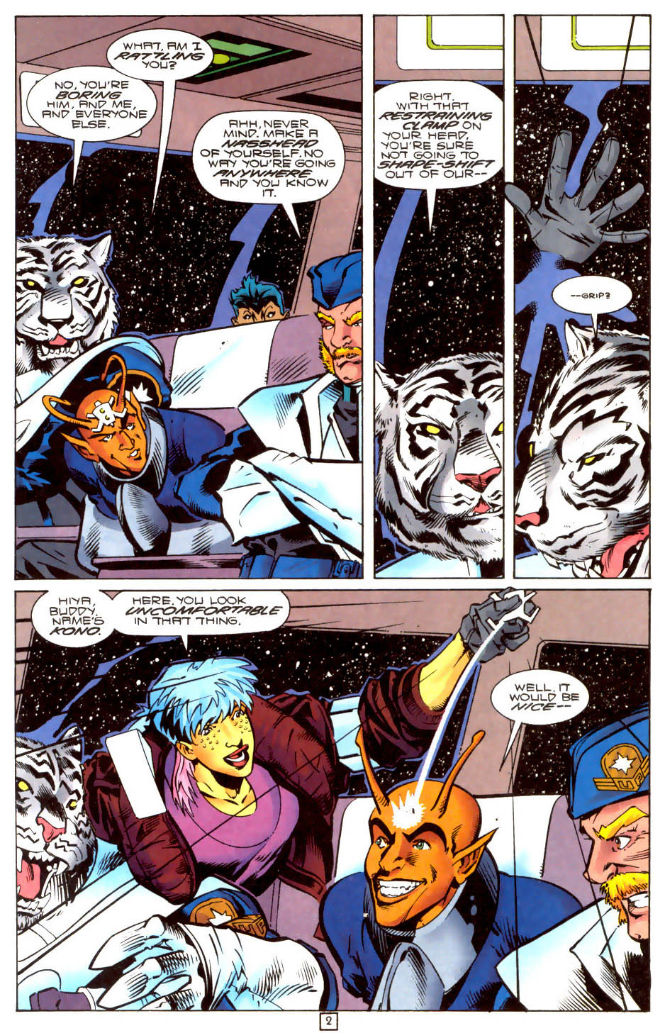 Legion of Super-Heroes (1989) 104 Page 2