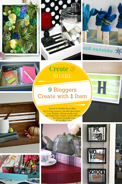 September Create and Share - Wooden Trays
