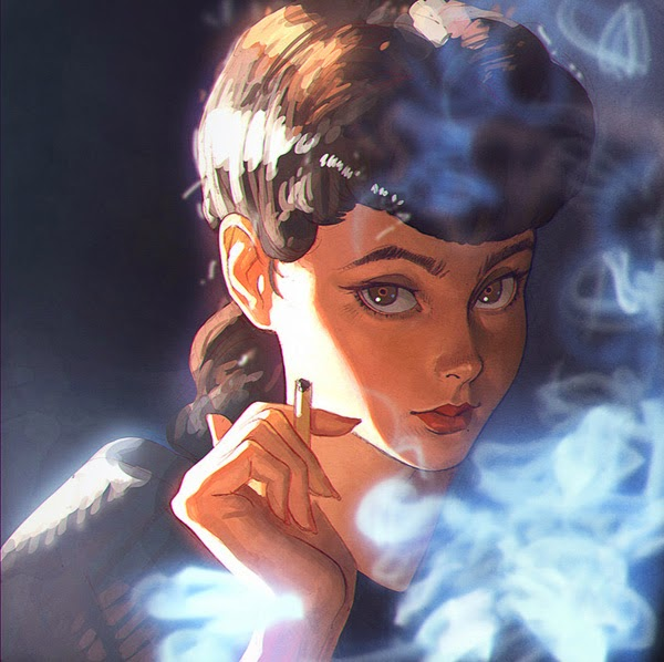 Mind blowing Portraits Paintings by Russian Painter Ilya Kuvshinov