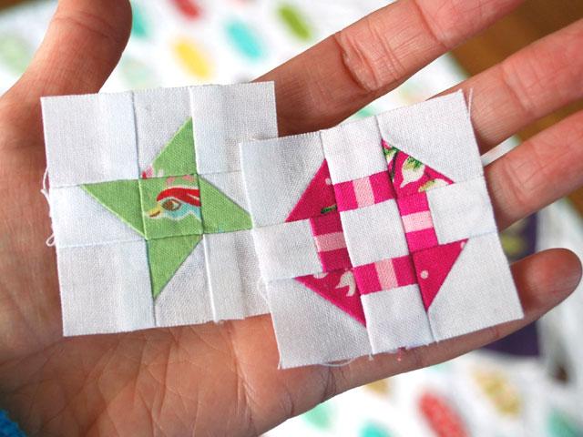 Mini Quilt Block Template Set : Hope s Quilt Designs: Free Mini Block Pattern - Friendship Star