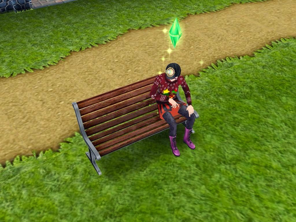 Wonderful image of Disuke Taro The Sims Free Play Thailand: เฉลยเควส A  with #496E0F color and 1024x768 pixels