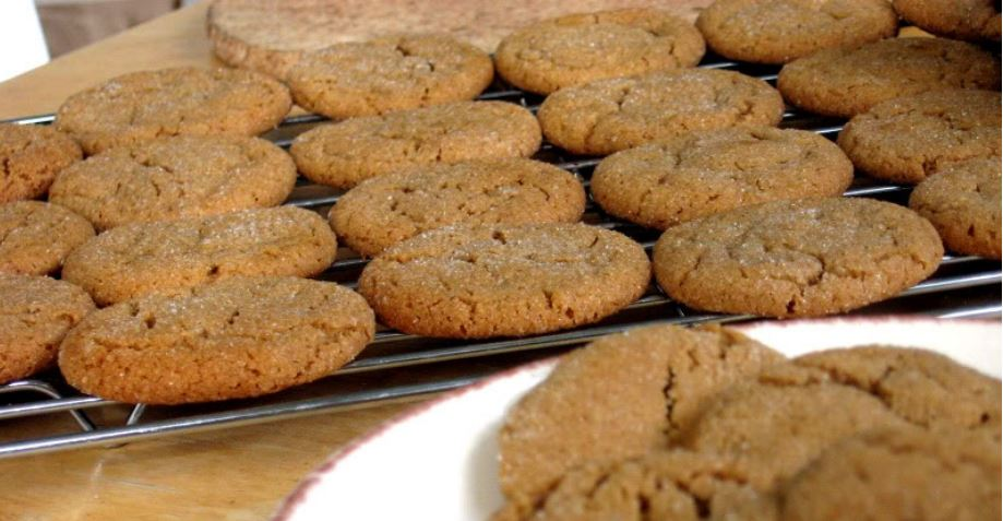Molasses Cookies by freshfromthe.com