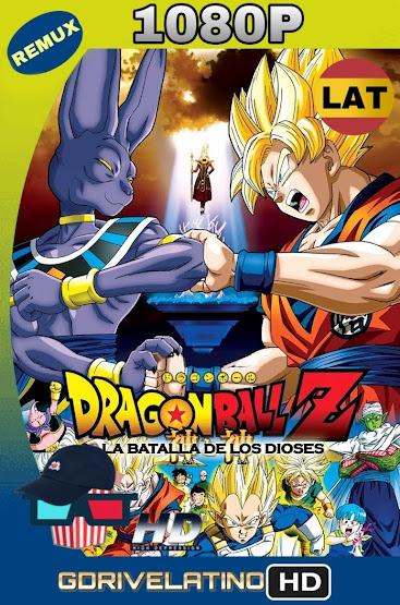 Dragon Ball Z La Batalla de los Dioses (2013) BDRemux 1080p Latino-Ingles MKV