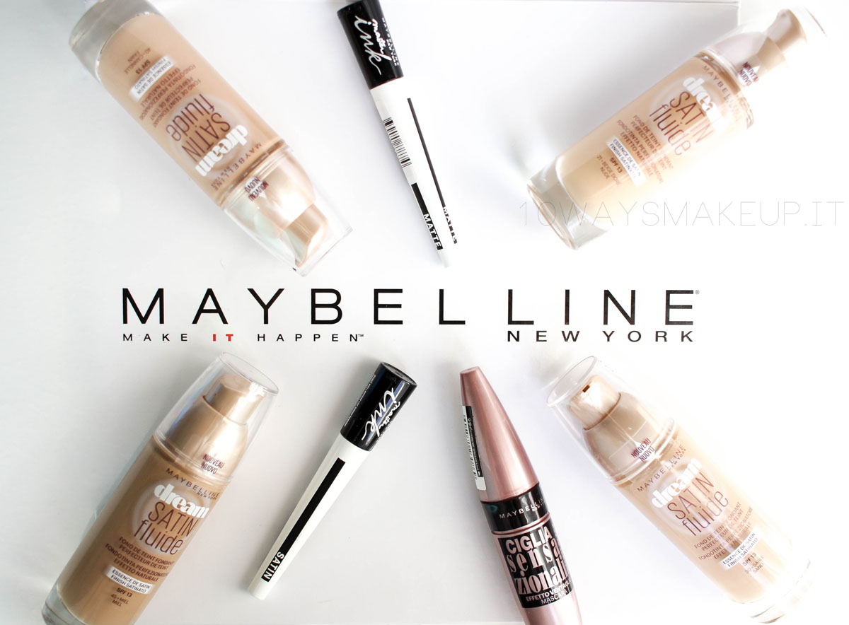 Maybelline Fondotinta Mascara Eyeliner