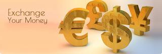 money changer, tempat penukaran uang, money exchange, penukaran valas