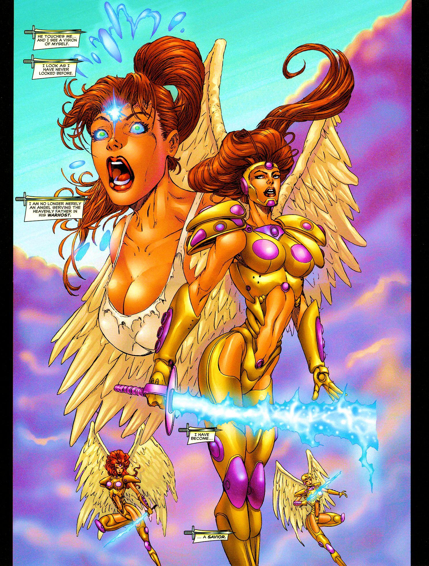 Read online Avengelyne (1999) comic -  Issue #Avengelyne (1999) Full - 16
