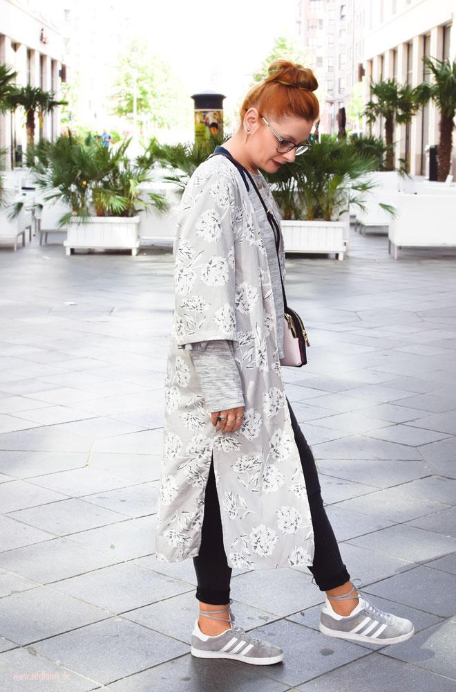 Trend Teil Kimono richtig kombinieren