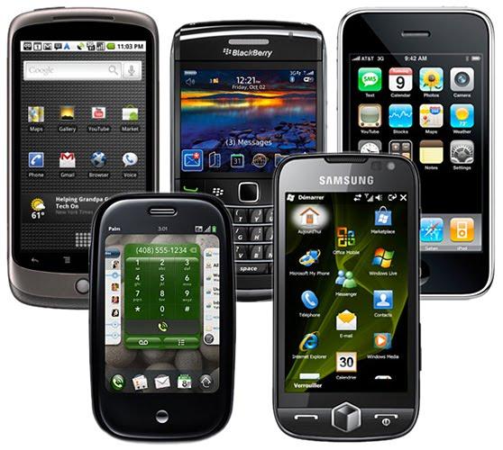 LA GUERRA DE LOS TELEFONOS INTELIGENTES