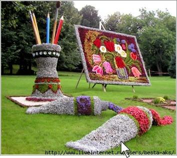 клумба, цветники, альпинарий, клумбы фото