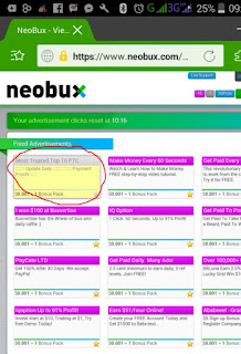 IMG 20170211 092853 Cara mudah klik iklan Neobux di Handphone Android