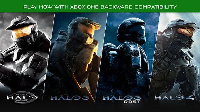 Halo Backward Compatibility Xbox