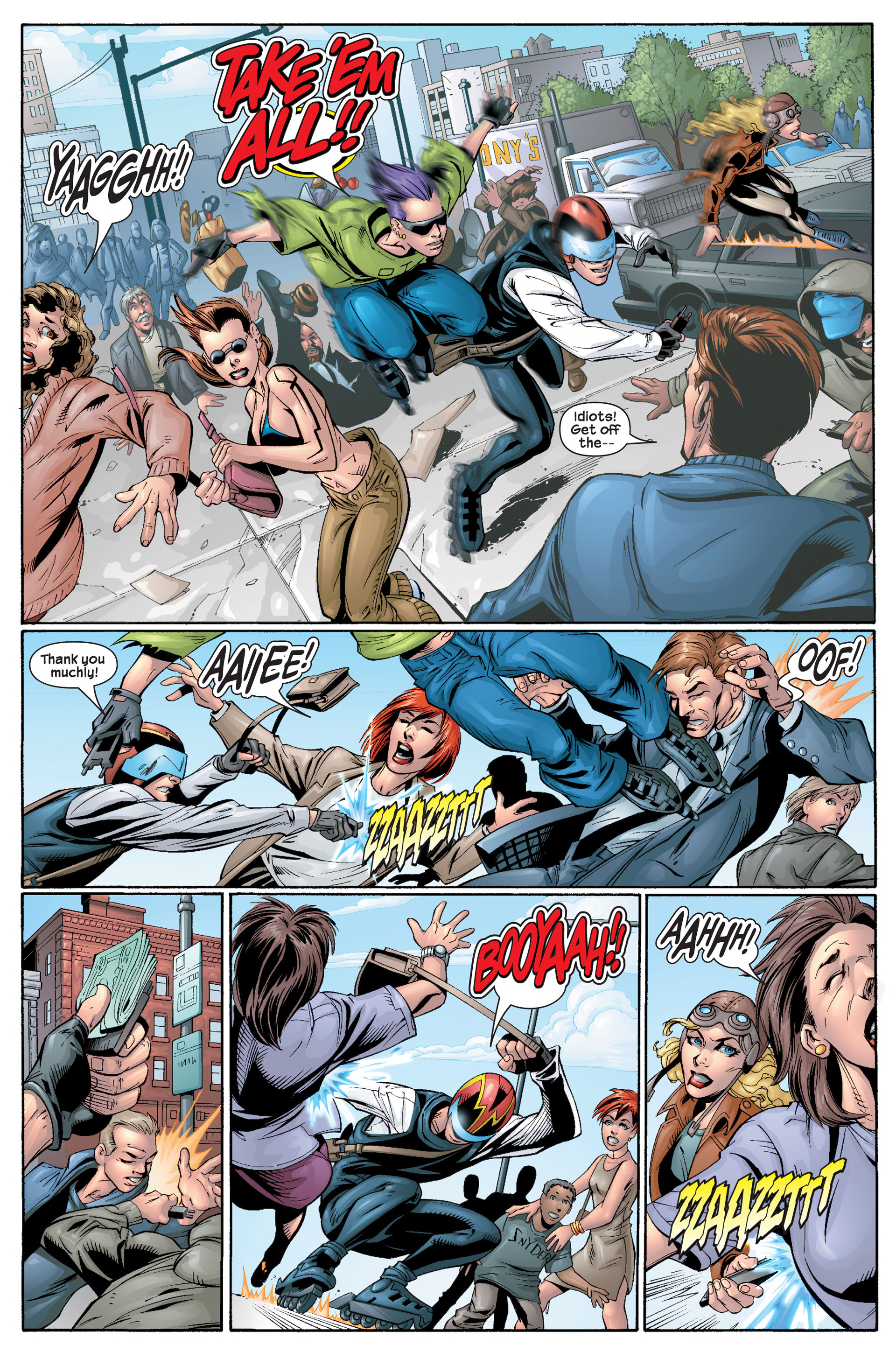 Read online Ultimate Spider-Man (2000) comic -  Issue #22 - 4