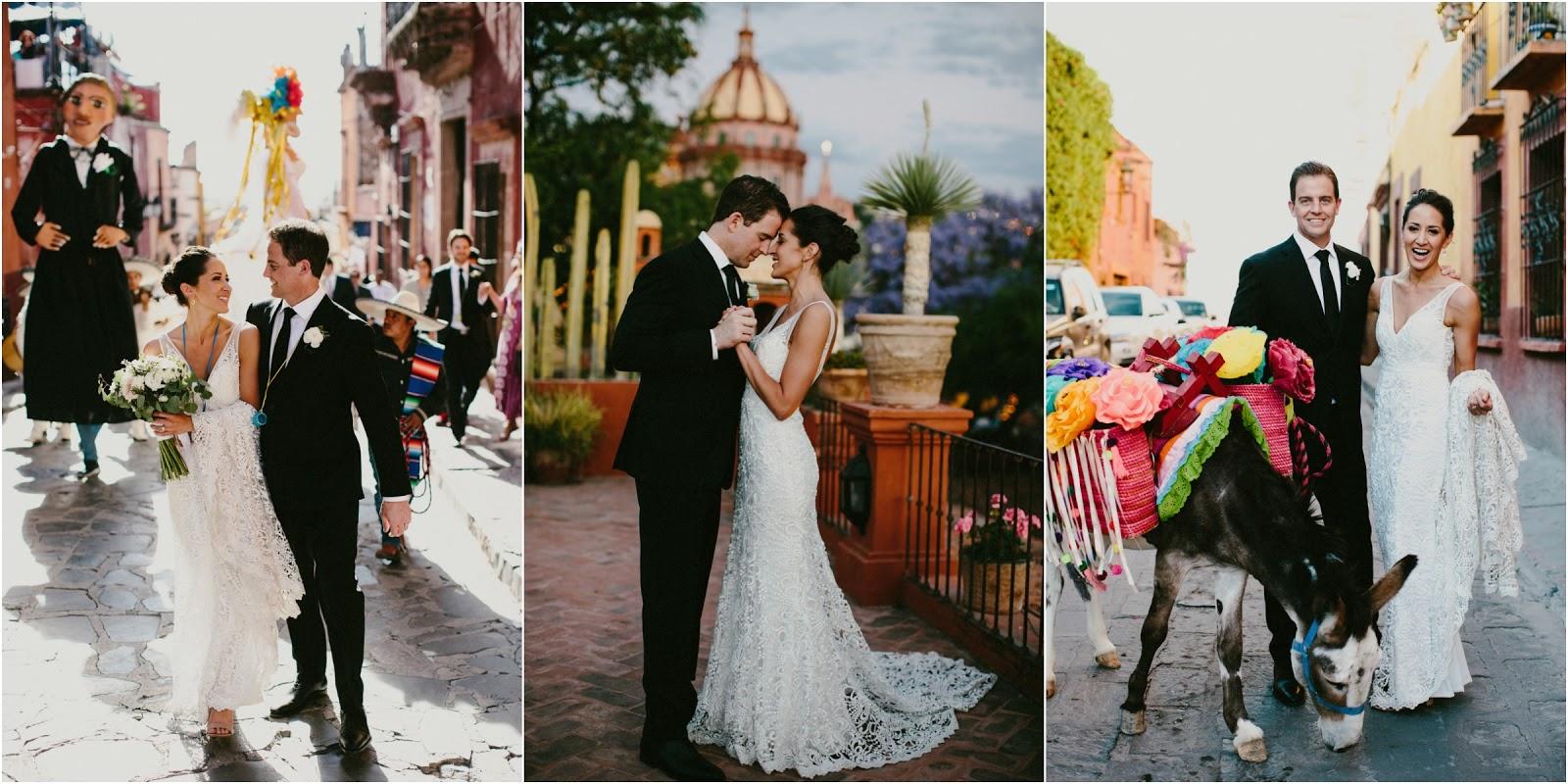 San Miguel de Allende Guadalajara Mexico Wedding Parade Tequilla