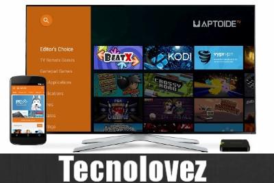 Aptoide TV -  Store Alternativo ottimizzato per Amazon Fire TV , Smart TV e TV Box
