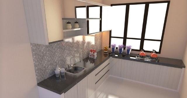Jasa Pembuatan Kitchen Set Granit Di Malang Model Terbaru Modern