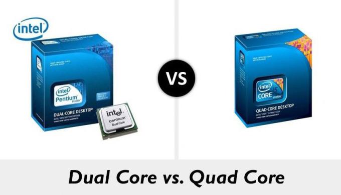 Perbedaan Quad Core dan Dual Core