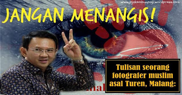 BIKIN BAPER, Tulisan Seorang Fotografer Muslim Untuk Ahok !!
