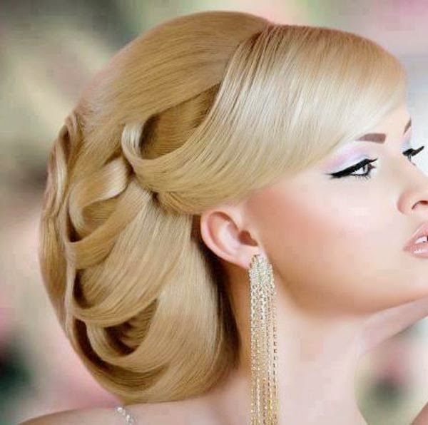 30 Creative And Unique Wedding Hairstyle Ideas: FASHION WORLD: 30 Unique Wedding Hairstyles