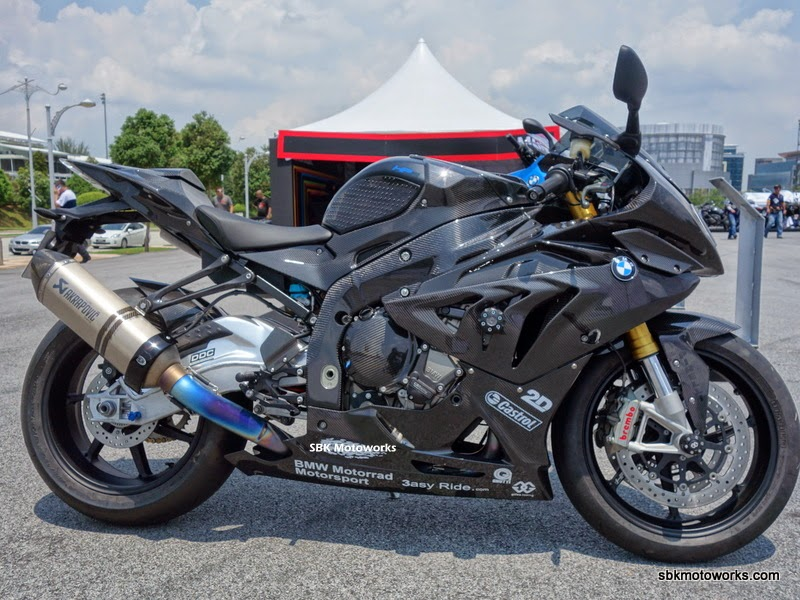 Sbk Motoworks Bmw Hp4 Full Carbon Fiber Parts
