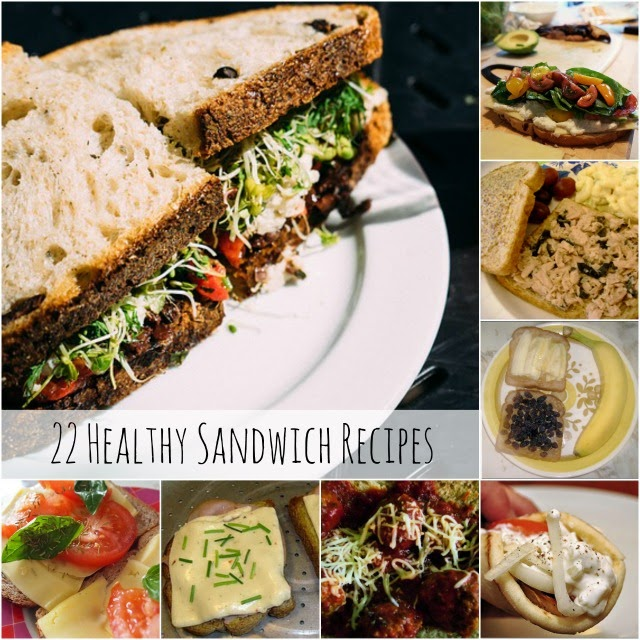 Healthy Sandwiches | Becky Cooks Lightly #healthysandwichestoeat