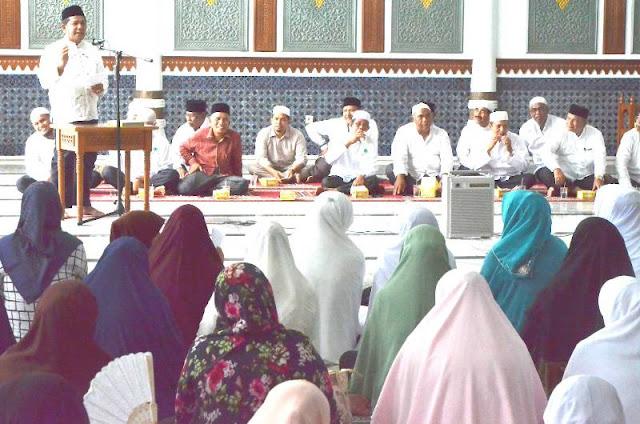Buka Manasik Haji, Wakil Walikota Minta JCH Tak Pikirkan Oleh-Oleh