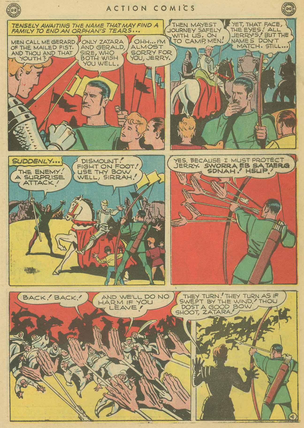 Read online Action Comics (1938) comic -  Issue #102 - 44