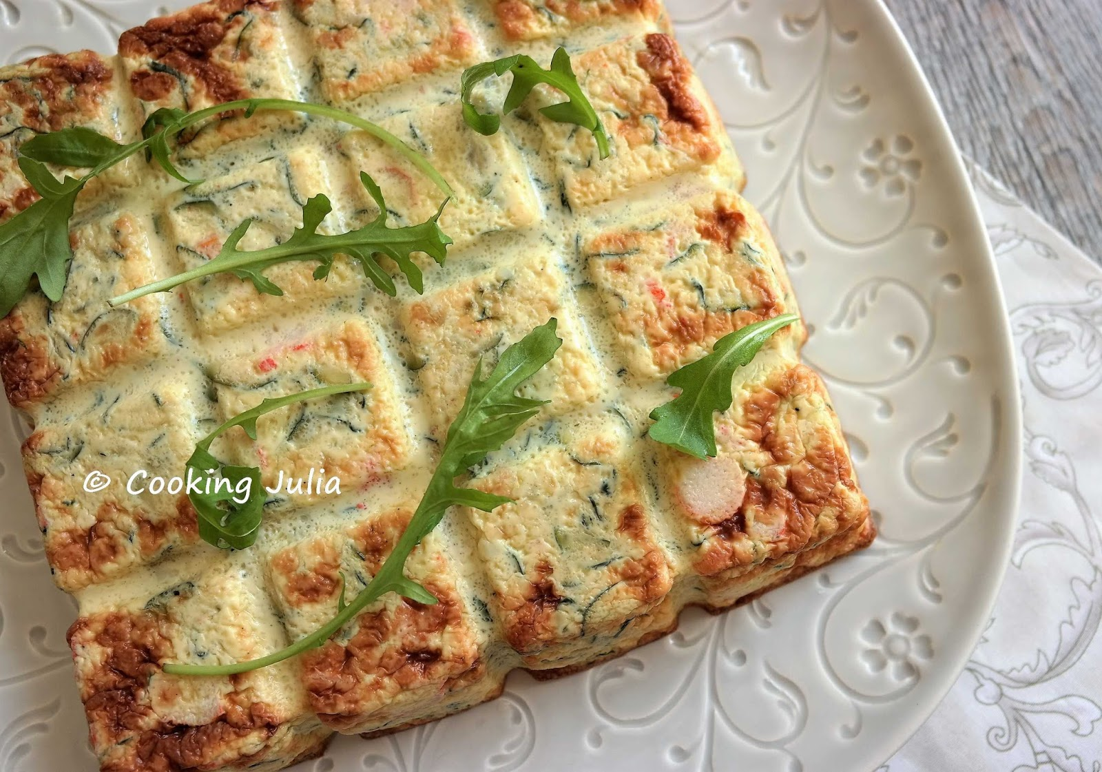 Cooking Julia Flan De Courgettes Au Surimi