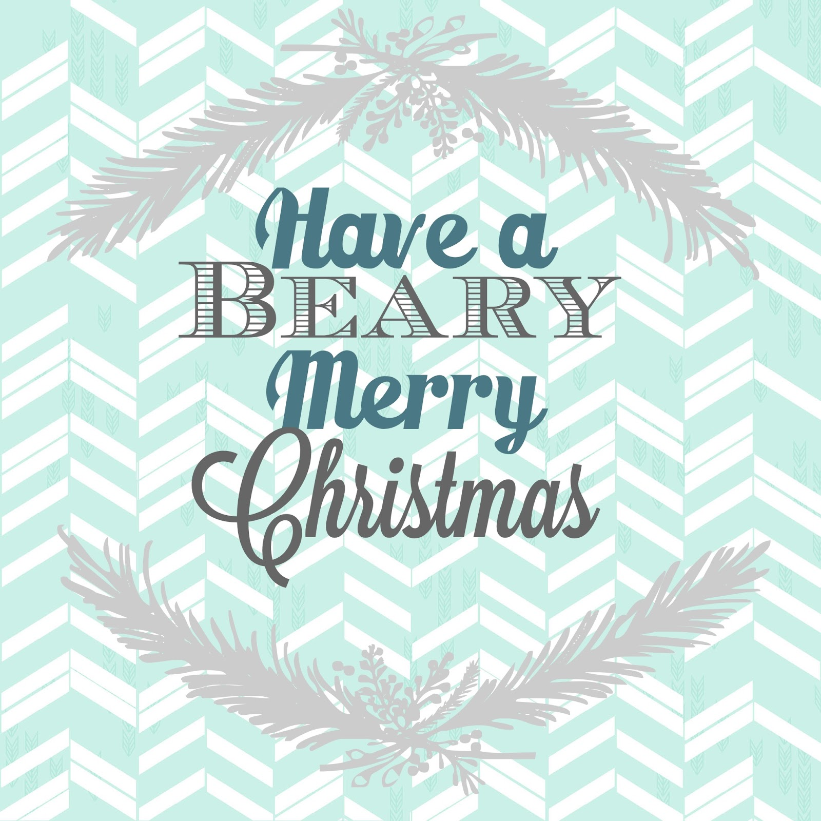 Have a Beary Merry Christmas Gift Idea with Honey Bear for Neighbor, Friend, and Teacher Gifts