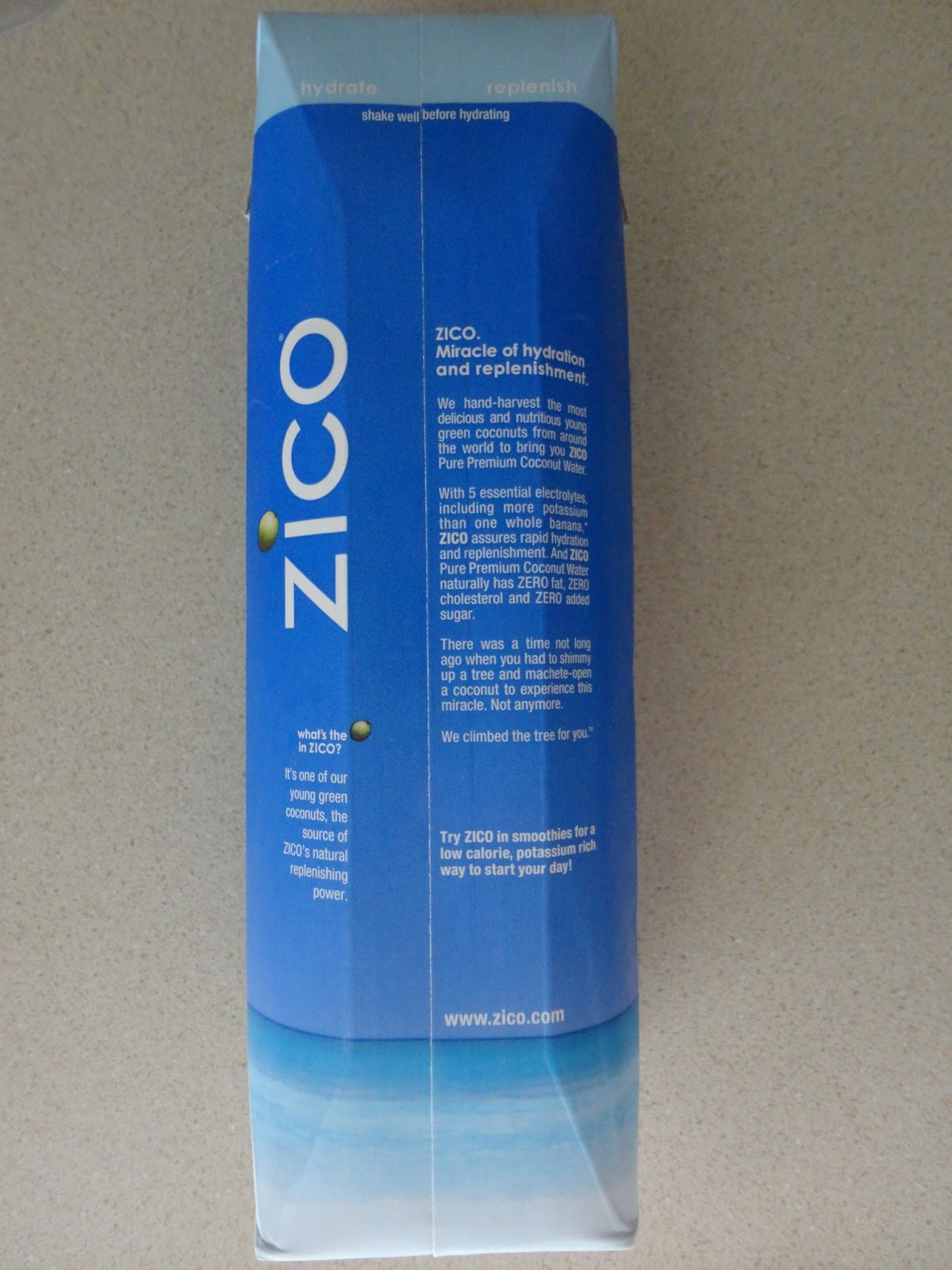 Zico Coconut Water | Food, Fitness, Finance