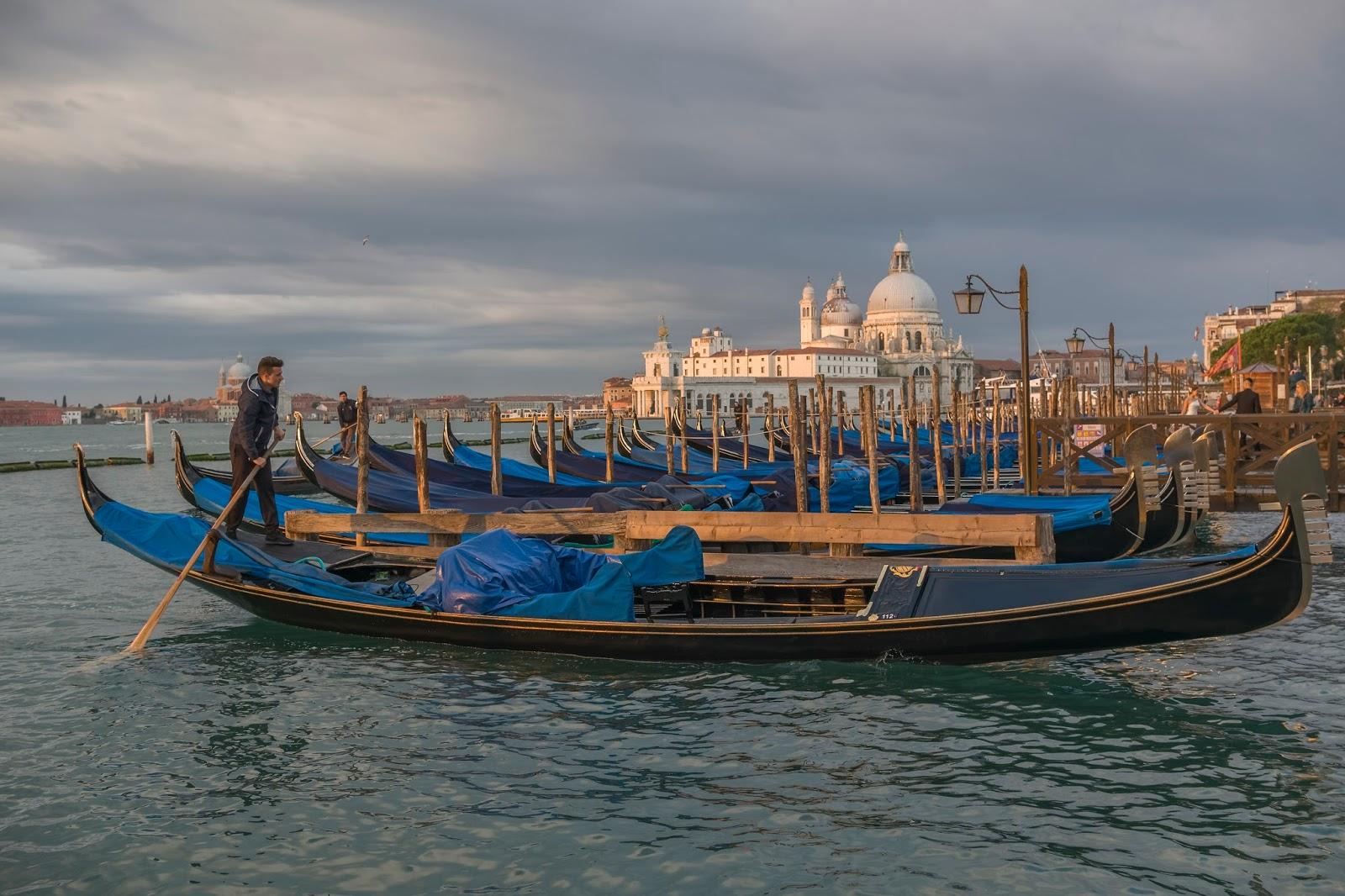 Gondole Venise Italie