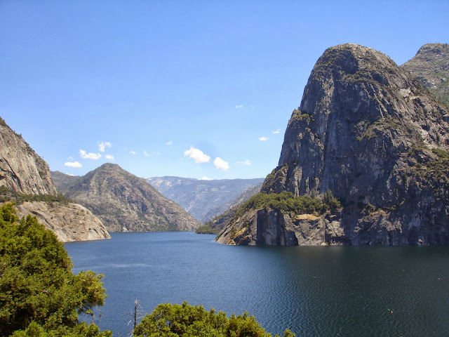 Hetch Hetchy Valley Reservoir Yosemite National Park