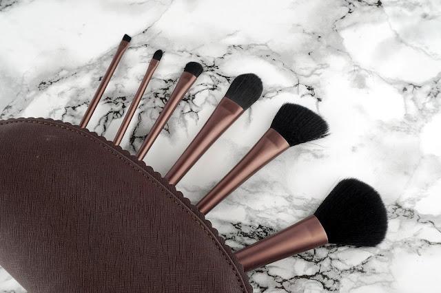 quo cosmetics fall 2016 collection makeup brush set