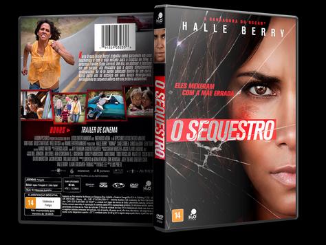 Capa DVD O Sequestro [Exclusiva]