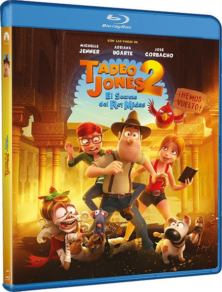 Tadeo Jones 2: El Secreto Del Rey Midas (2017) 720p y 1080p BDRip mkv Dual Audio AC3 5.1 ch