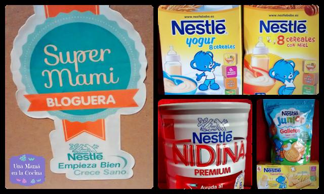 Nidina supermami bloguera Cereales Nestlé galletas para bebés