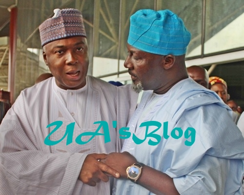 Melaye Is Saraki's Son: How Tinubu Made Senate Erupt In Laughter Over Valentine's Day Outfit