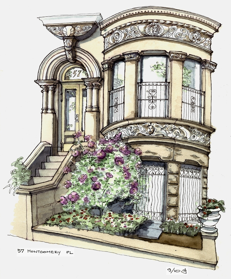 11-Rose-of-Sharon-Townhouse-James-Anzalone-Freehand-Sketches-of-Park-Slope-Brooklyn-USA-www-designstack-co