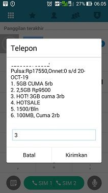 Paket Internet Tri HOT! 3GB Cuma 3rb Rupiah (PROMO)