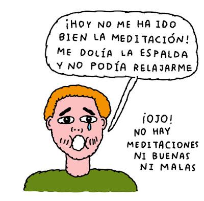 MEDITAR NO ES SUFRIR