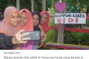 Lorong Kumuh di Sulawesi Ini Disulap Menjadi Kampung Korea