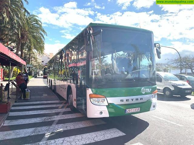 El servicio público de transporte en guagua prioriza la seguridad de los usuarios y aumenta sus frecuencias hasta el 84 por ciento