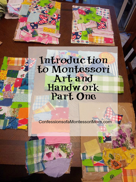 Introduction to Montessori Art and Handwork Part One {ConfessionsofaMontessori.com}