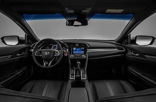 Novo Honda Civic 2017 EXL Prata - Brasil - interior