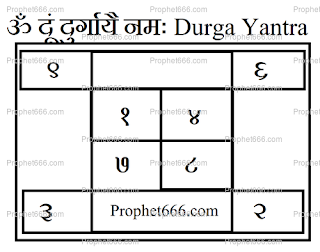 Durga Mata Protection Amulet for destroying Ghost and Bad Spirits