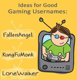 56 Innovative And Cool Usernames For Online Games Game Of